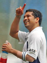 Sachin Tendulkar and his tennis elbow