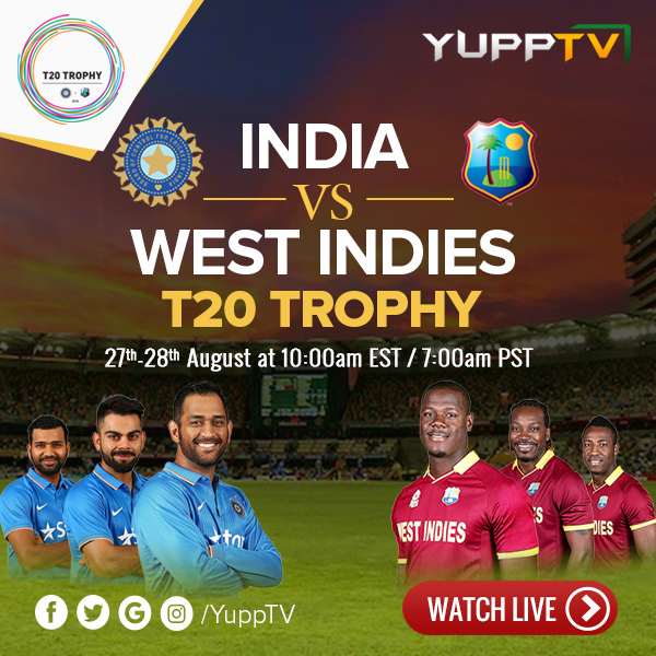 Ind vs WI USA T-20 series